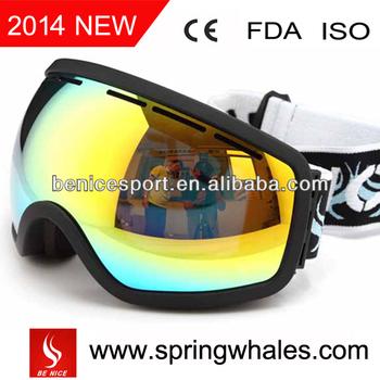 Tpu flexible frame custom logo ski goggles.jpg 350x350