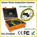 De aguas residuales de la pared de la tubería de la cámara de inspección, bajo el agua mejor z710dk5 cámaras
