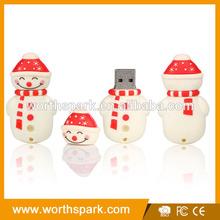 OEM and ODM 4gb cartoon USB flash drive with logo printing