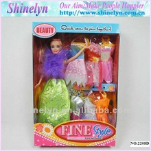 SLD-030 Hot sale beautiful princess doll for children