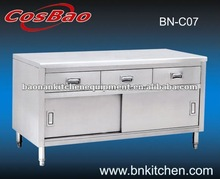 Stainless Steel Kitchen Cabinet with Drawer
