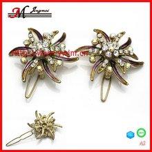 A2 fashion girls butterfly hair clip goody hair accessories