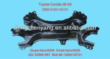 toyota corolla 06 cross member 51201-02131