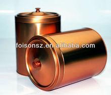 hotest sale air tight tea tin box with knob