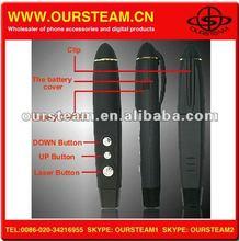 Black Wireless PPT Presenter Laser USB Word Pointer Pen