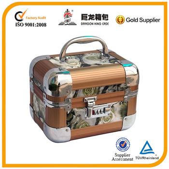 2014 aluminum case jewelry box for South America market
