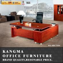 modern office desk set pictures of wooden furniture KM-T333#