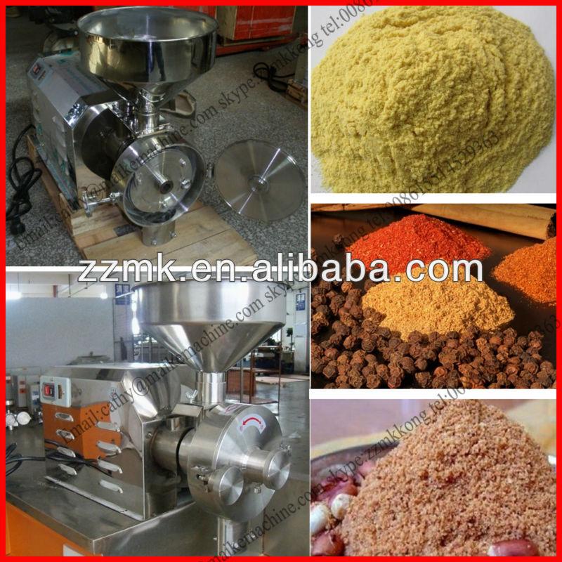 2014 les plus populaires en acier inoxydable grain machine de meulage