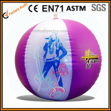 girls beach ball, two color promotional stunning beach ball with logo printed