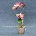 New Potted Artificial Orchids Flowers,Orchids Plants Bonsai
