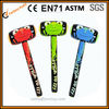 promotion inflatable hammers with logo, gift item low cost pvc hammer