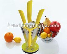Best Quality Kitchen Ceramic Knife Sets with Knife Holder