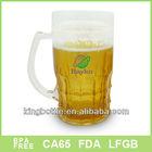 Big Size Frosty mug with beer liquid inside
