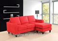 Lk-m013 chegada nova tecido confortável sofá de design