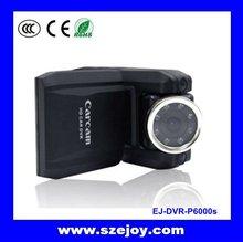 Wholesale 2012!! car black box 2.0''TFT LCD & 8 LED Enhanced IR Night-vision P6000S