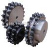 steel transmission roller chain idler sprocket
