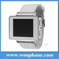 Thin Wrist Watch Mobile Phone I3
