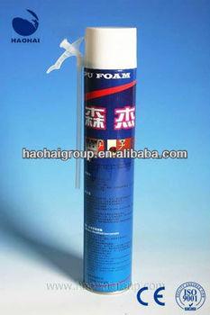 Straw PU Sealant Large Expansion Construction Polyurethane Foam