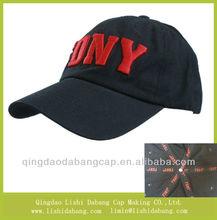 Custom high quality 100% cotton 6 panel 3d embroidey baseball cap