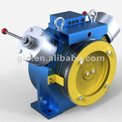 1.75m/s-550kg-GSD-SM gearless traction machine /elevator motor