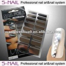 2014 nail wraps wholesale best for art nail art (SNF027)