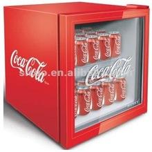 Luxury and High Quality Mini Beverage Display Showcase Refrigerator,49L-93L Home/Hotel/Bar/Restaurant/Store/Supermarket euipment
