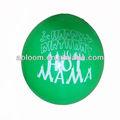 2.8g اللثي البالونات الطباعة مع اللون الأخضر