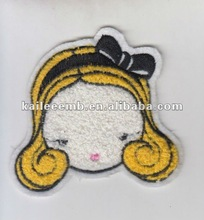 Embroidery Patches in a Lovely Girl Design,Perfect for Garments,Toys,Handbags and Footwears.Various Designs are Available.
