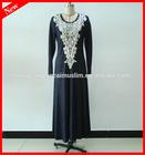2014 Fashion Embroideried Modern Abaya for Malaysia