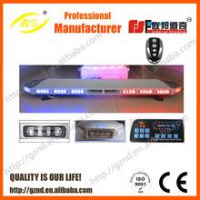 TBD-GA-8600S high power emergency led light super thin Light Bar with siren and speaker