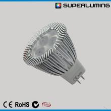 CE RoHS AC/DC 12v Philips gu4 3w mr11 led spot lighting