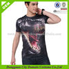 Alibaba com men o neck short sleeve printed t-shirt, custom 3d t-shirt (lvt040361)