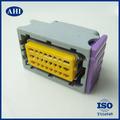 hembra de ecus arnés de alambre 24 pin conector eléctrico