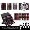 2014 new private label cosmetic distributor 8layer makeup kit