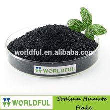 High Quality Sodium Humate Flake, Sodium Humate Organic Fertilizer, Sodium Humic Fertilizer