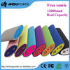 Mobile power pack/power bank 12000mah power bank with ce rohs