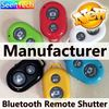oem customization New variable length position ABS+PVC+stainless steel bluetooth remote control camera shutter