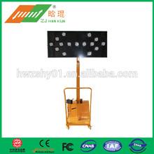 solar Leading road construction traffic signs