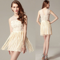 China supplier apparel factory OEM custom fashion casual dresses online wholesale lace chiffon summer dress