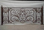 Hot selling wrought iron fence with top quality