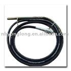 two claw type concrete vibrator shaft 45mm*6mtrs/concrete vibrator needle