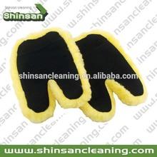 So hot Car Microfiber wash mitt chenille car washing mitt