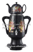 NK-S952 Kettle Russia electric samovar flower print electric kettle + ceramic kettle