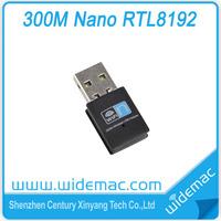 300Mbps Realtek RTL8192 Chipset 2T2R Mini WIFI USB Adapter/ wireless lan card/ Wifi dongle(SL-3505N)