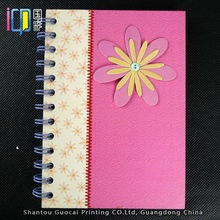 Hot office stationery items for gift spiral notebook wholesale