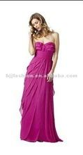 2012 New Sexy Pink StraplessCorset Evening Dress Guangzhou Supplier