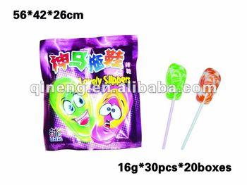slipper lollipop candy