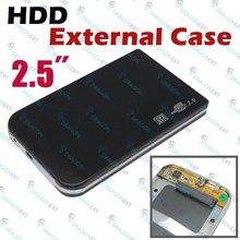 "USB 2.0 Hard Drive Disk 2.5"" HDD External Enclosure Case"