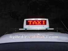 Taxi Top LED Moving Display Scrolling Message Sign Wireless Message Board