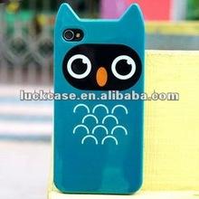 for iphone 4 tpu cartoon case OEM custom plastic case for iphone 5